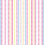 Bright seersucker stripes Stock Image