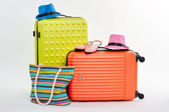 Bright set for summer leisure. Stock Photography