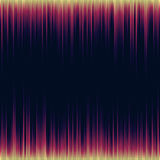 Bright shiny music equalizer. Extraterrestrial abstract waves. Stock Photo
