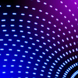 Bright shiny neon lines background with short strokes direction Stock Photos
