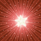 Bright shiny star Royalty Free Stock Photos