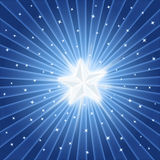 Bright shiny star Royalty Free Stock Photography
