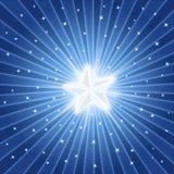 Bright shiny star vector illustration