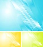 Bright shiny vector design Royalty Free Stock Photos