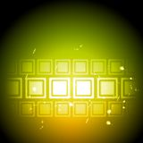 Bright shiny vector technical backdrop Royalty Free Stock Images