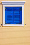 Bright shuttered window Royalty Free Stock Photos