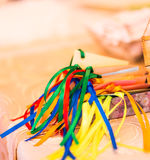 Bright silk ribbons Royalty Free Stock Photos
