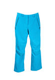 Bright ski trousers Royalty Free Stock Photos