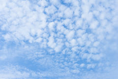 Bright Sky Alto-stratus Clouds Background Royalty Free Stock Images