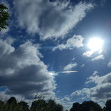 Bright Sky stock image