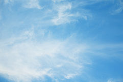 Bright sky with cloud. royalty free stock photo