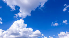 Bright sky. The bright sky with clouds Stock Photo
