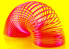 Bright slinky Royalty Free Stock Image