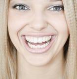 Bright smile Stock Image