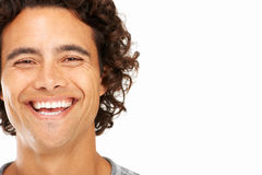A bright smile to promote your brand Stock Image