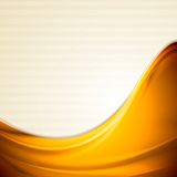 Bright smooth iridescent waves design Stock Images