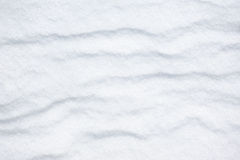 Bright snow as background Stock Images
