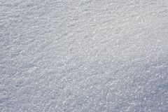 Bright snow surface. Sparkling snow surface in sunny winter day stock photos