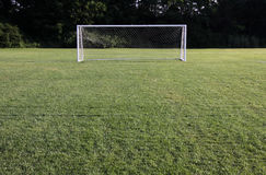 Bright Soccer Net Royalty Free Stock Image