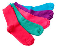 Bright socks Royalty Free Stock Photo
