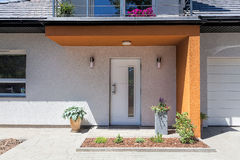 Bright space - front door Stock Photography