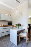 Bright space - kitchen Royalty Free Stock Photo