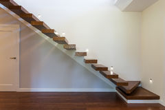 Bright space - modern staircase Stock Photography