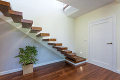 Bright space - staircase Stock Photo