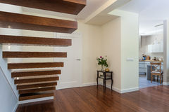 Bright space - stairs Stock Photography