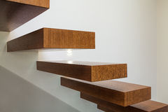 Bright space - steps Stock Photos