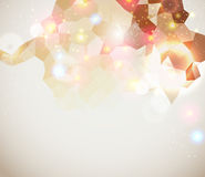 Bright and sparkling page layout for your presenta Royalty Free Stock Photos