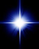 Bright sparkling star Stock Image