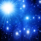 Bright sparkling star Royalty Free Stock Photography