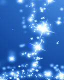 Bright sparkling star Stock Images