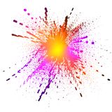 Bright splash Stock Photos