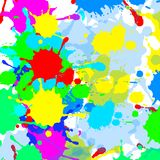 Bright splash background Stock Photos