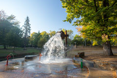 Bright Splash Park Royalty Free Stock Image