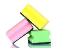 Bright sponges Stock Photo