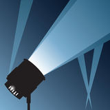 Bright Spotlight Stock Image