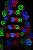 Bright spots of light Stock Image