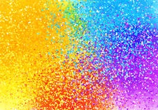 Bright sprayed paint rainbow colors abstract horizontal background Royalty Free Stock Photo