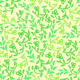 Bright spring flowers seamless pattern Stock Images