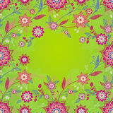 Bright spring seamless border. Royalty Free Stock Image