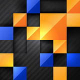 Bright square abstract background Stock Image