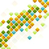 Bright squares. Abstract geometric background Stock Photos