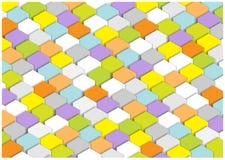 Bright squares background Stock Photo