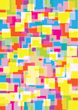 Bright squares background Stock Images