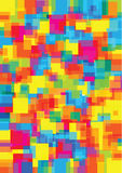 Bright squares background Stock Image