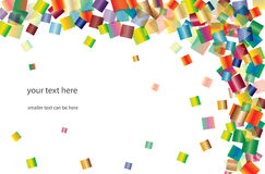 Bright squares background Stock Photos