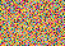 Bright squares background Royalty Free Stock Photo